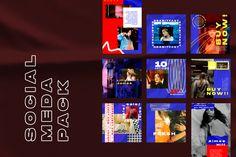 Free Demo Urban Scana Instagram Templates – Free Design Resources Social Media Banner, Social Media Template, Instagram Story Template, Instagram Templates, Free Instagram, Photoshop, Urban, Graphic Design, Templates Free