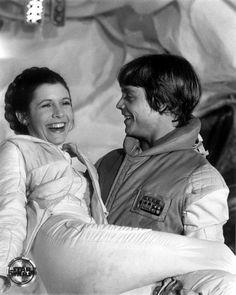 Leia & Luke in The Empire Strikes Back