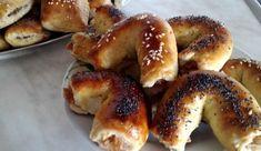 Jednoduché plundrové pečivo | NejRecept.cz Bagel, Bread, Sweet, Food, Basket, Author, Candy, Brot, Essen