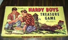 Vintage Toys 1960s, Retro Toys, Vintage Stuff, 1940s, Retro Vintage, Old Board Games, Vintage Board Games, Game Boards, Treasure Games