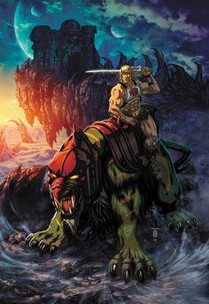 Here is the first one as well: Skeletor Hope to see you there this weekend! He-Man PowerCon 2016 Comic Anime, Comic Art, He Man Tattoo, He Man Desenho, Gi Joe, He Man Thundercats, Arte Dark Souls, Man Wallpaper, Universe Art