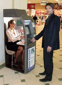 worst jobs: german ATM machine operator