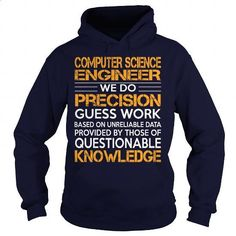 Awesome Tee For Computer Science Engineer #shirt #T-Shirts. CHECK PRICE => https://www.sunfrog.com/LifeStyle/Awesome-Tee-For-Computer-Science-Engineer-93084088-Navy-Blue-Hoodie.html?60505