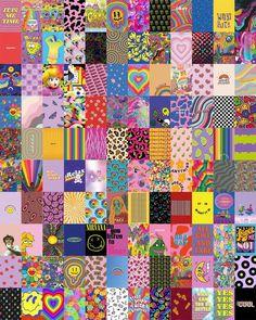 Indie Drawings, Indie Photography, Indie Room Decor, Diy Bedroom Decor, Hippie Wallpaper, Indie Art, Diy Canvas Art, Photo Wall Collage, Indie Kids