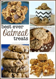 Here's a sweet roundup of the Best Ever Oatmeal Treats your family and friends will love!