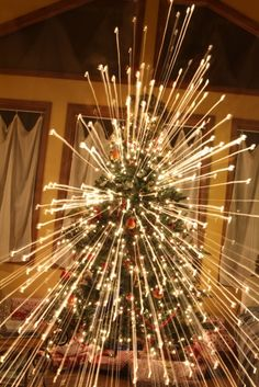 A fun way to photograph your Christmas tree (with tutorial).... SO going to try this!