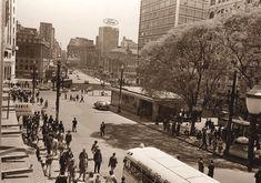Viaduto do Chá; praça Patriarca 1966