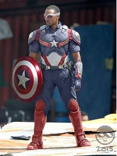 What If Anthony Mackie's Sam Wilson Became Captain America? New Avengers, Avengers Movies, Marvel Movies, Marvel Show, Marvel Comics Superheroes, Marvel Heroes, Captain America Art, Captain America Costume, Chris Evans