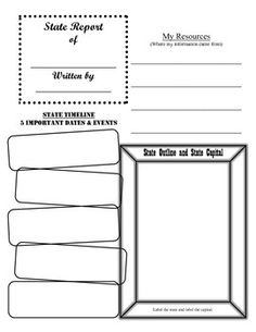 biography report template for intermediate grade pinterest language arts social studies and fiction stories