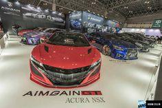 AIMGAIN GT Acura NSX 📍 Tokyo Auto Salon. #pasmag #tokyoautosalon #aimgain #acura #nsx #jdm #tuning365 #7tune
