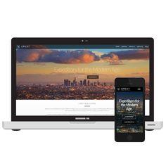Crest Real Estate Los Angeles web design