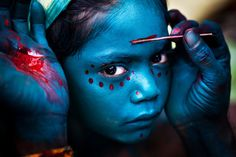 tamil nadu face paint national geographic - Google Search