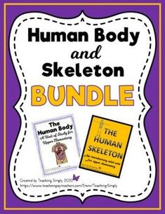 Get two units in one bundle and save $$$! Teach reading and science simultaneously with the resources in this bundle that includes all you need to teach the human body and skeleton. Packed with information to keep your students engaged and learning. Informational posters, reading passages with questions, task cards, assessments, and more! #Skeleton #HumanSkeleton #ElementaryScience #HumanBodyUnit Reading Resources, Teaching Reading, Learning, Elementary Science, Upper Elementary, Human Body Unit, Information Poster, Thematic Units, Reading Passages
