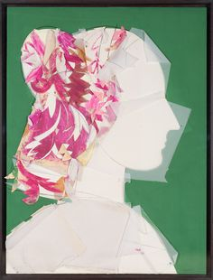 Courtesy of the Marlborough Gallery New York. Famous Portraits, Modern Portraits, Classic Portraits, Collage Art, Collages, Pop Art Movement, San Francisco Museums, Spanish Artists, Portrait Paintings