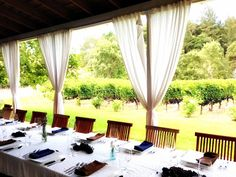Napa Wedding Locations for Receptions, Rehearsal Dinners, Showers ...