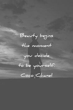 Beautiful Quotes That Will Make Your Day Magical beautiful quotes beauty begins the moment you decide to be yourself coco chanel wisdom quotesbeautiful quotes beauty begins the moment you decide to be yourself coco chanel wisdom quotes Beauty Quotes, Beauty Art, Beauty Skin, Diy Beauty, Beauty Tips, Beauty Products, Joyce Meyer, Wisdom Quotes, Life Quotes
