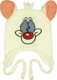 pinky and the brain pinky head lapland beanie