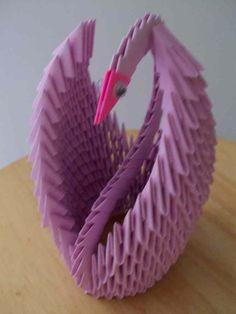 Paper Origami Swan at ShopHandmade.com