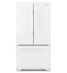 KitchenAid® 22 Cu. Ft. Counter Depth French Door Refrigerator, Architect® Series  II (KFCS22EVWH White) |
