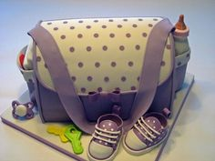 Baby shower cake! Adorable!