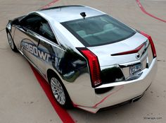 360 Wraps Custom - Cadillac CTS Chrome Vehicle Wrap