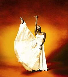 Dancer Judith Jamison.