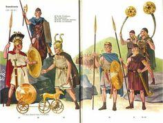 Bronze age warriors from north Europ