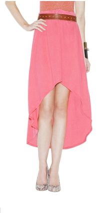 Hi Tara!!     I love this Selby skirt! It looks so fun and fresh and versatile. I could see myself wearing it with a plain tank or even pulled up as a strapless 'shirt' belted over skinny jeans or leggings. I'm very into coral this season and I would definitely pair this skirt with a pair of mint heels and a matching belt! And one letter off from my name… I think this skirt was made for me!    Love, Shelby