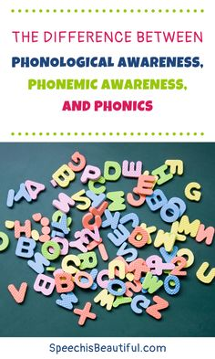 What's the difference between phonological awareness, phonemic awareness, and phonics? Read on to understand the differences between these terms. - Speech is Beautiful #speechtherapy #phonologicalawareness #phonics #phonemicawareness
