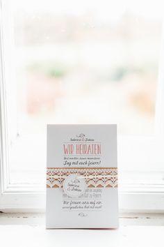 Hochzeit, Wedding, Invitation, Typography, Handmade