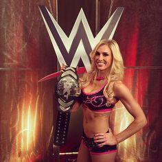 """The winner of the match on #WWE #MainEvent... @charlottewwe! @wwenxt #WWENetwork"""