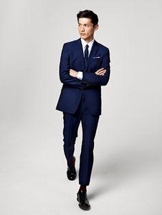 H Men Autumn/Winter 2012 Lookbook & Video: Formalwear Inspired Dailywear Funnel Slim Structure Beyond High Street Fast Fashion