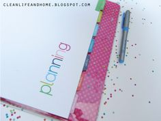 Clean Life and Home: Freebie Friday: Printable Divider Tabs and Pages for your Pregnancy Planner