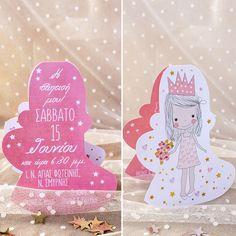 #προσκλητήριο #βάπτισης #princess @ 4LOVEgr we #love #celebrations #invitations - Always #happy to #work with #flowers and #decoration and give unic #style to #weddings #baptisms #christening #party #birtdays and every #event - Concept Stylist #Μάνθα_Μάντζιου & Floral Artist #Ντίνος_Μαβίδης