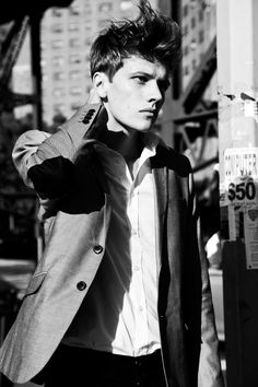 David Konerman With or Without Jacket by Damian Bao