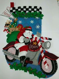 Cruising Santa for Harold
