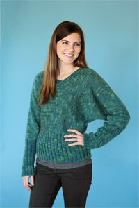 Celtic Isle - sweater knitting pattern from Winter 2013 Love of Knitting