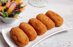 Monsieur Cuisine fácil: Croquetas de Jamón o Pollo Recetas Monsieur Cuisine Plus, I Companion, Canapes, Empanadas, No Cook Meals, Cornbread, Sweet Potato, Food And Drink, Cooking Recipes