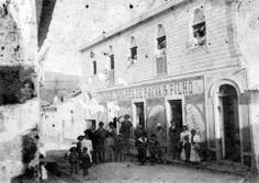 1900s. Rua da Natividade, Vila de Água de Pau, Ilha de S. Miguel