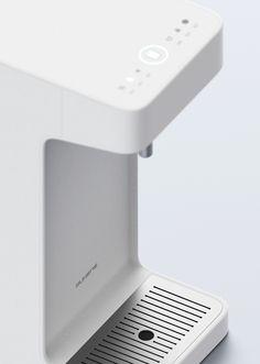 Industrial Design Trends and Inspiration - leManoosh Clean Design, Minimal Design, Cofee Machine, Le Manoosh, Cooler Designs, Water Dispenser, Design Case, Bath Accessories, User Interface