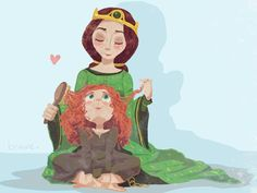 Queen Elinor & Merida