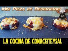 Como hacer Mini Pizza de Berenjenas