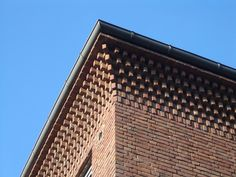 Haus K – Kahlfeldt Architekten Best Picture For home accents contemporary For Your Taste You are looking for something, and it is going to tell you exactly what you are … Brick Architecture, School Architecture, Architecture Details, Brick Design, Facade Design, Brick Projects, Brick Works, Brick Art, Brick Construction