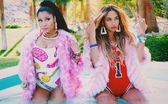 Beyonce and Nicki Minaj Feeling Myself Video