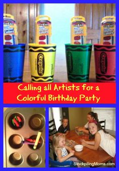 Do you have an artist in the family? Plan a Calling all Artists party for their birthday and encourage their creative side. The perfect time to stock up on supplies for your little artist's party is NOW when art supplies are on sale with back to school sales.
