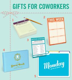 Deck the office with boughs of laughter and win cool points with your boss to boot. Seriously? Desktop Pad ($10.00) This Week Pad ($7.00) Office Citation ($4.50) Cubicle Guest Book ($15.00) Days of the Week File Folders ($9.00) More gift ideas for coworkers here.  #knockknockstuff #knockknockpads #holidays #giftideas #fungiftideas #funny #funnygiftideas #coolofficesupplies #office #officesupplies #coworkers #giftsforcoworkers #knockknockoffice