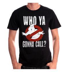 T Shirt Casual Gildan Ghostbusters Who Ya Gonna Call Short Sleeve Men Fashion 2017 Crew Neck Tee Shirts #Affiliate