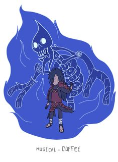 Itachi Susanoo - Adventure Time style by Musical-Coffee on DeviantArt