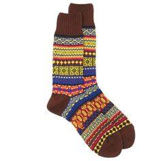 CHUP by Glen Clyde Emong Fairisle Socks