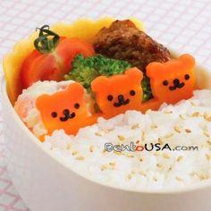 Carrot Bear :) #bento #lunch